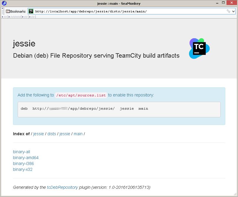 TeamCity как Debian-репозиторий - 11