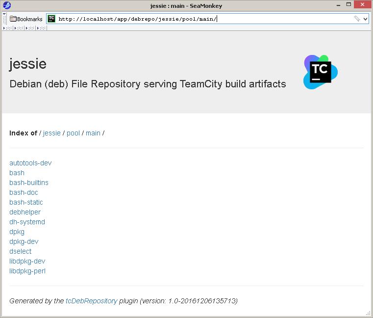 TeamCity как Debian-репозиторий - 12
