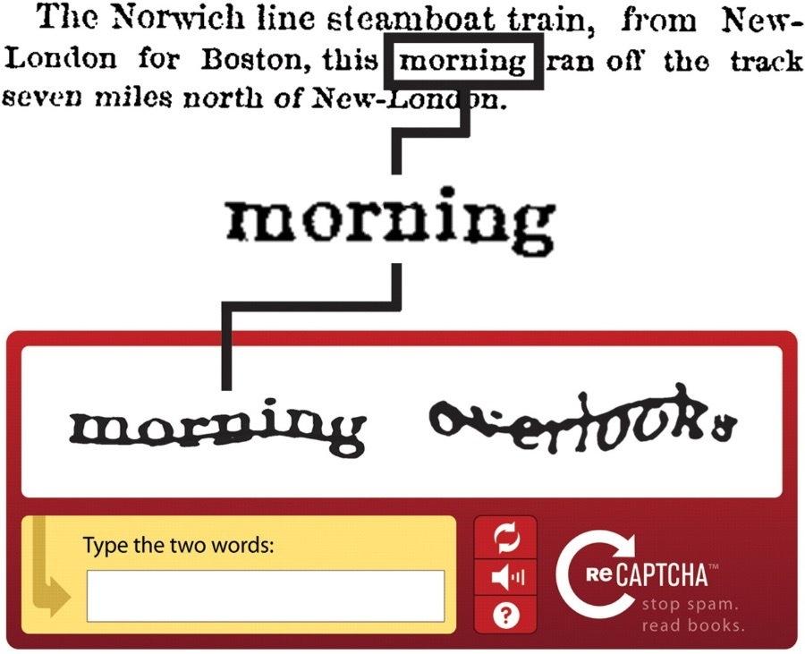 Немного об истории CAPTCHA - 2