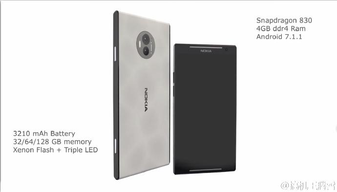 Опубликованы изображения смартфона Nokia C1, который должен получить SoC Snapdragon 830 и сдвоенную камеру