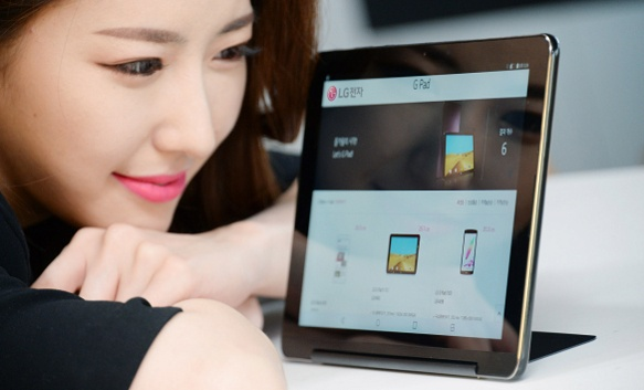 LG анонсировала планшет G Pad III 10.1