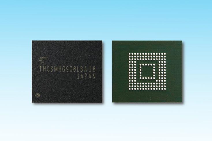 Новые модули флэш-памяти Toshiba eMMC рассчитаны на работу при температуре от -40°C до +105°С