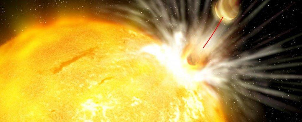 Астрономы обнаружили звезду, поглотившую часть своих планет - 2