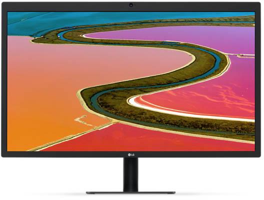 Монитор LG UltraFine 5K работает с ранее выпущенными компьютерами Mac при пониженном разрешении