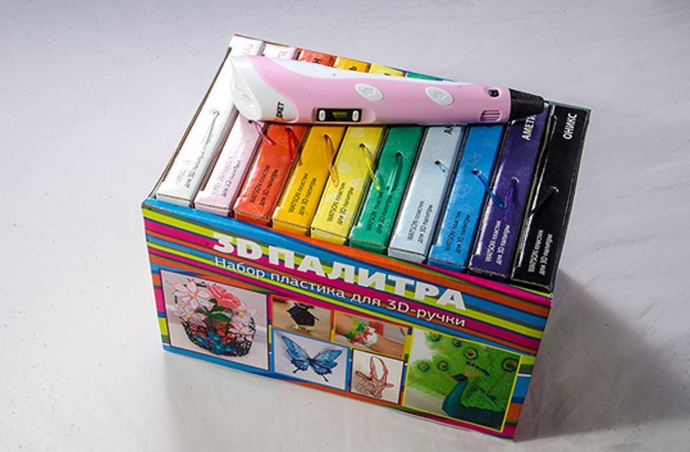 3D-РУЧКА 3Dali Plus и наборы пластиков для нее: «Палитра» PLA и «Палитра» Watson - 11