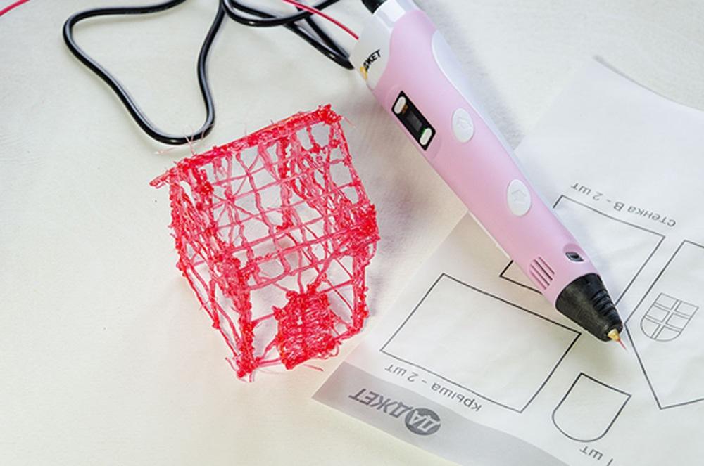 3D-РУЧКА 3Dali Plus и наборы пластиков для нее: «Палитра» PLA и «Палитра» Watson - 15