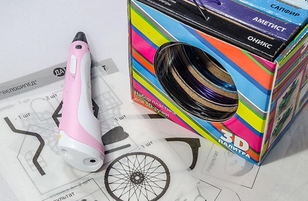 3D-РУЧКА 3Dali Plus и наборы пластиков для нее: «Палитра» PLA и «Палитра» Watson - 16