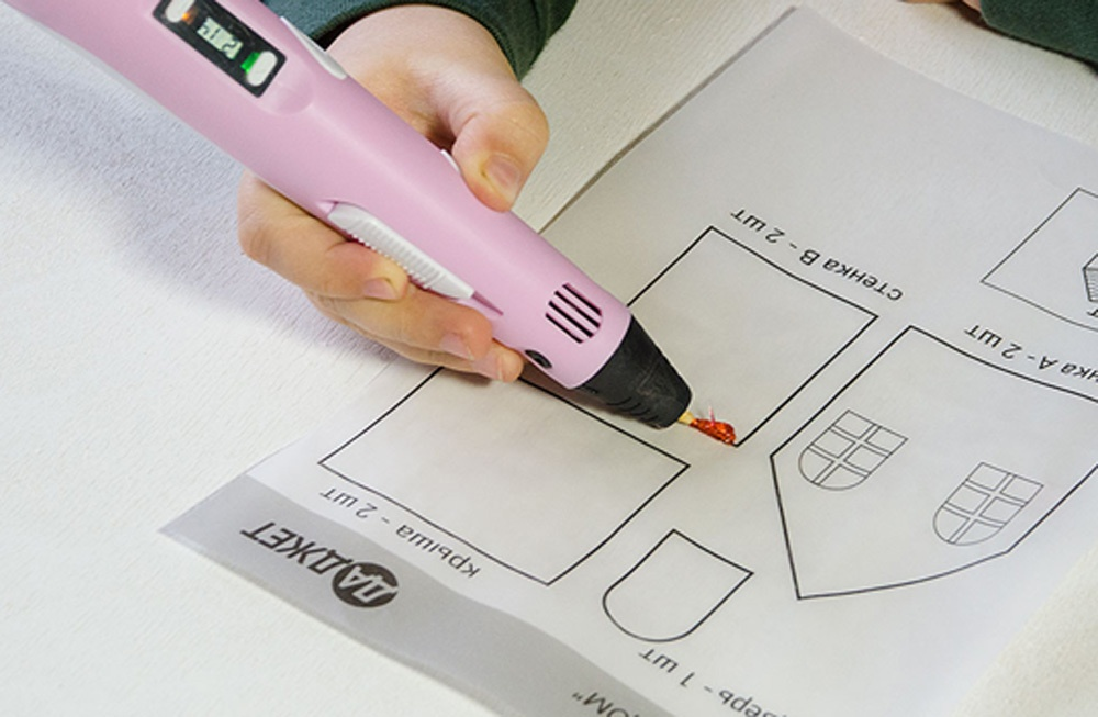 3D-РУЧКА 3Dali Plus и наборы пластиков для нее: «Палитра» PLA и «Палитра» Watson - 17