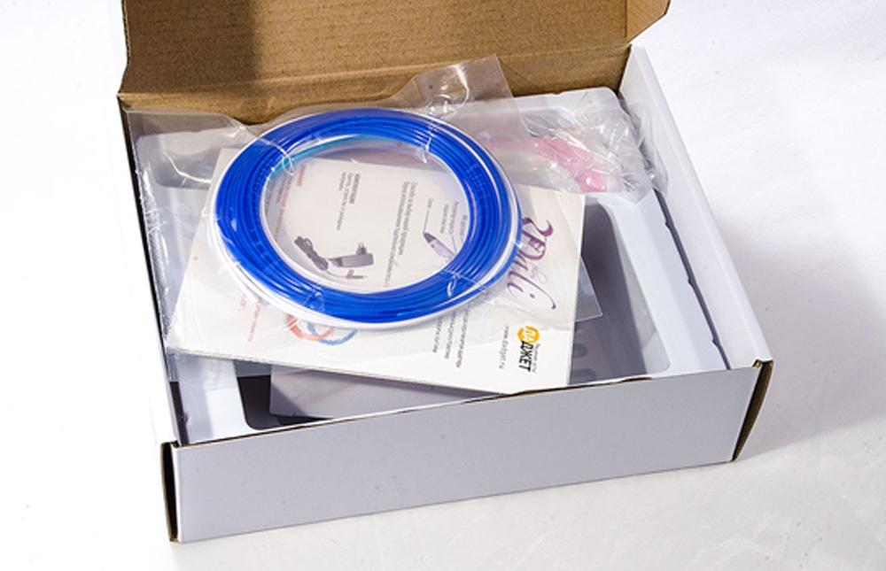 3D-РУЧКА 3Dali Plus и наборы пластиков для нее: «Палитра» PLA и «Палитра» Watson - 2