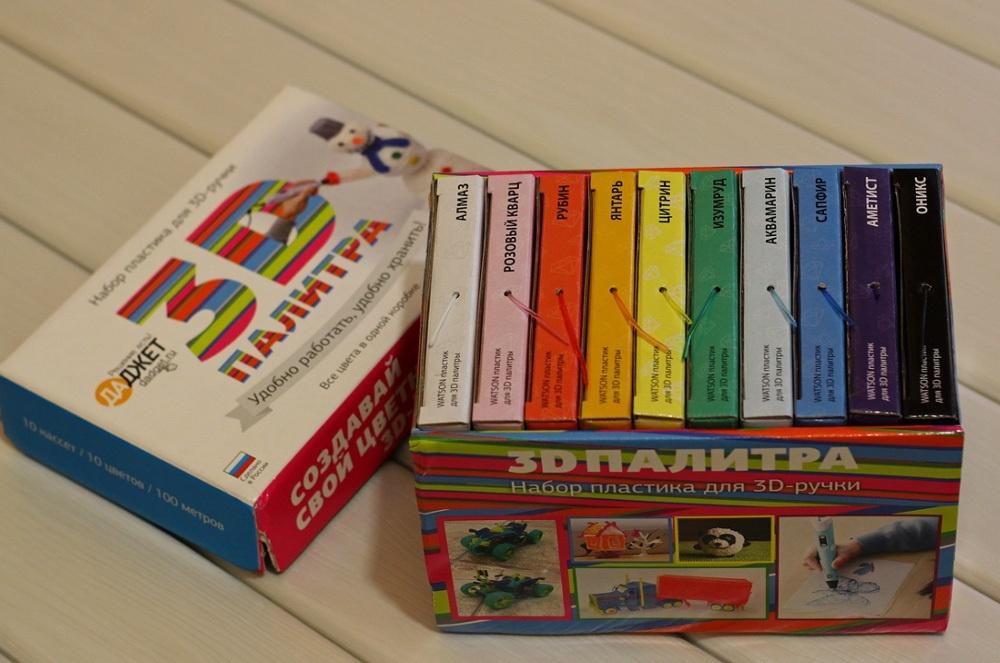 3D-РУЧКА 3Dali Plus и наборы пластиков для нее: «Палитра» PLA и «Палитра» Watson - 24