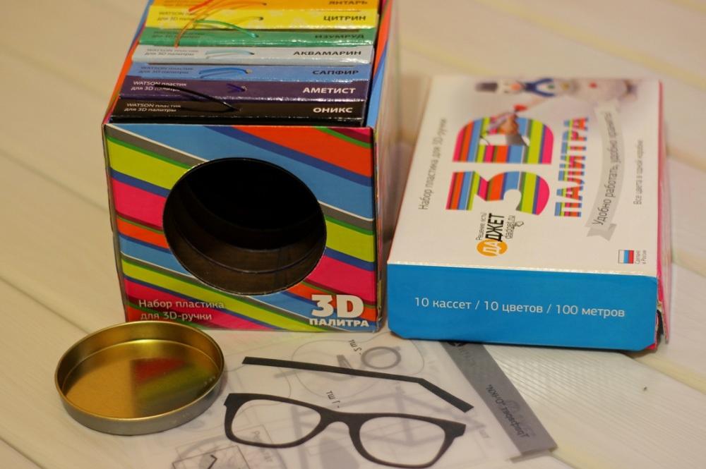 3D-РУЧКА 3Dali Plus и наборы пластиков для нее: «Палитра» PLA и «Палитра» Watson - 26