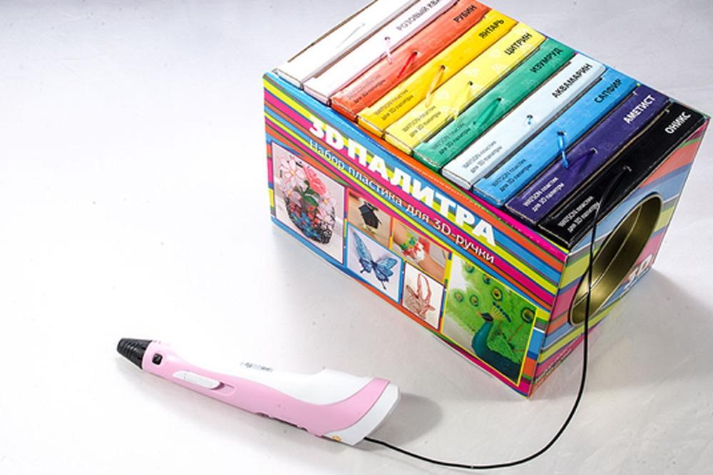 3D-РУЧКА 3Dali Plus и наборы пластиков для нее: «Палитра» PLA и «Палитра» Watson - 5