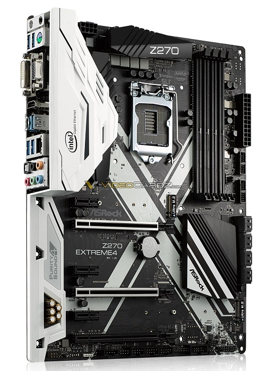 Плата ASRock Z270 Extreme4 получила армированные слоты PCI-e
