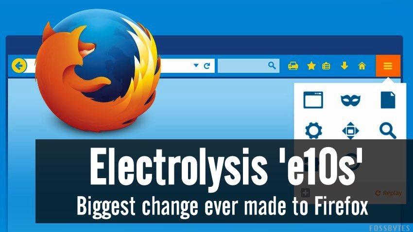 Многопроцессный Firefox: тестирование продолжается - 1