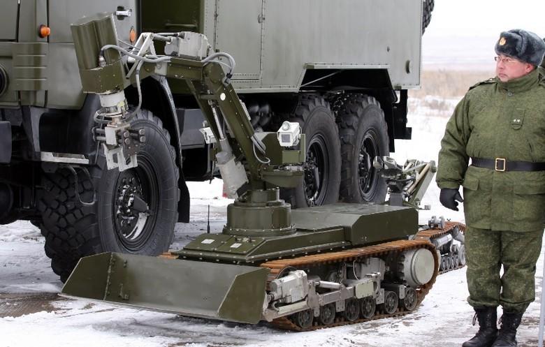 Российские боевые наземные роботы - 17