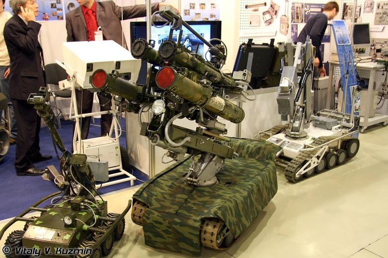 Российские боевые наземные роботы - 24