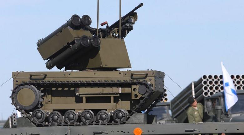 Российские боевые наземные роботы - 27