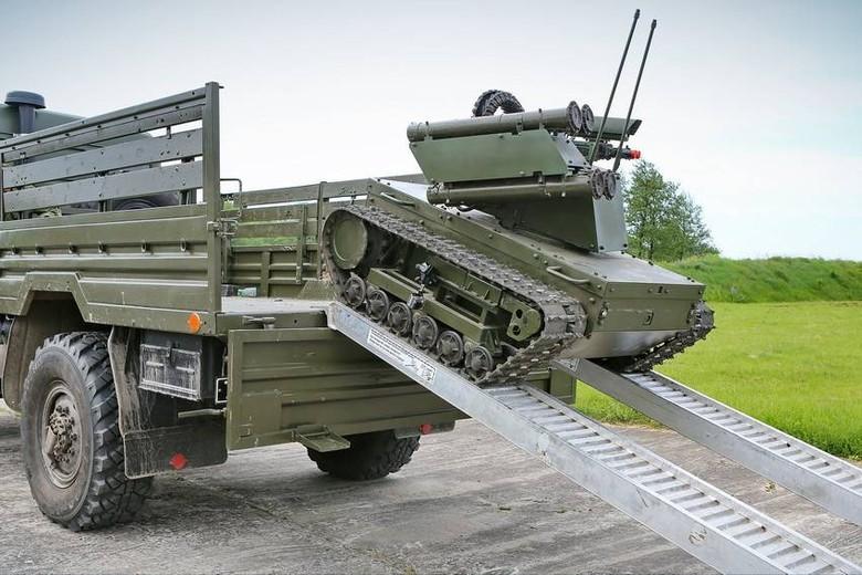 Российские боевые наземные роботы - 31