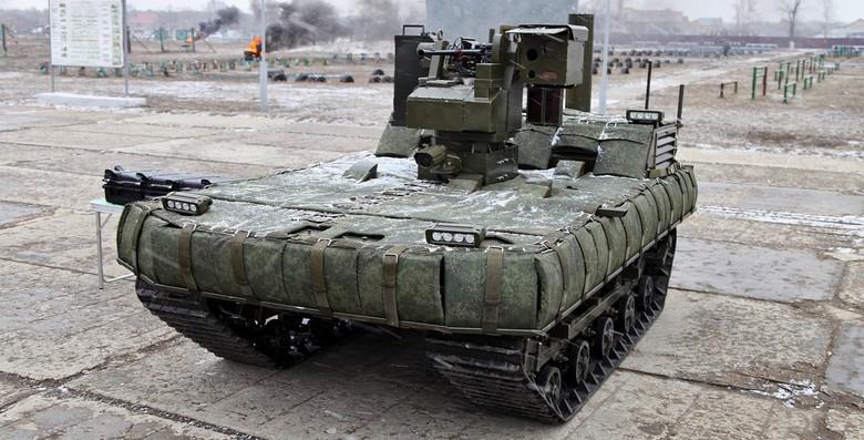 Российские боевые наземные роботы - 33