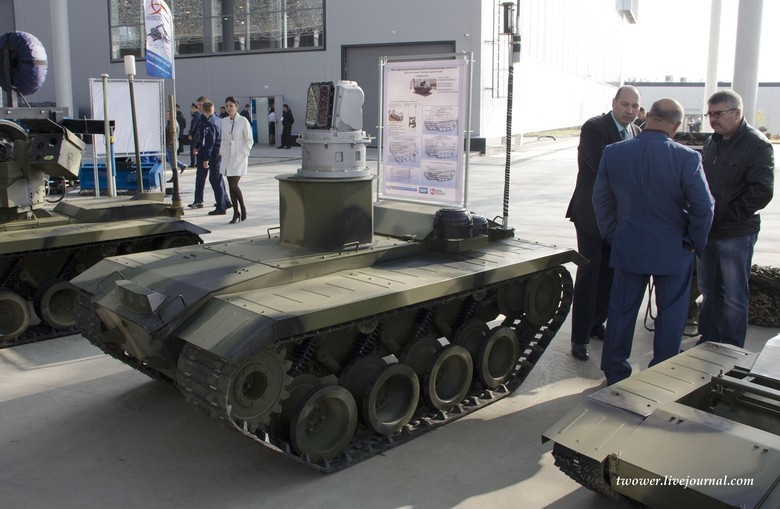 Российские боевые наземные роботы - 39