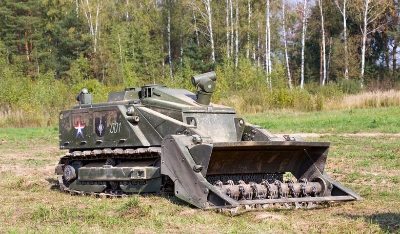 Российские боевые наземные роботы - 45