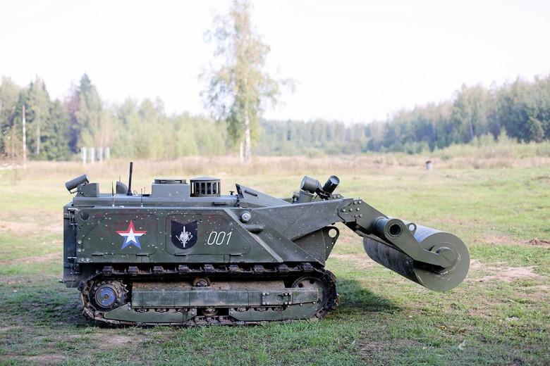 Российские боевые наземные роботы - 46
