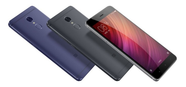 Смартфон Xiaomi Redmi Note 4 доступен в чёрном и синем цветах