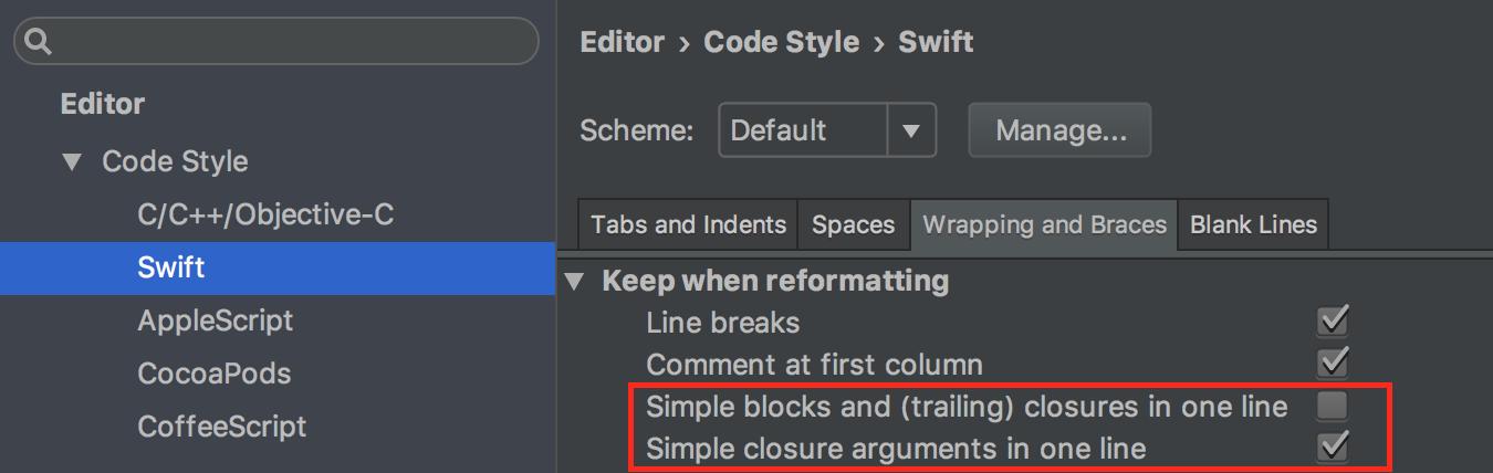 AppCode 2016.3: поддержка Swift 3, новые настройки форматирования, улучшения быстродействия и многое другое - 4