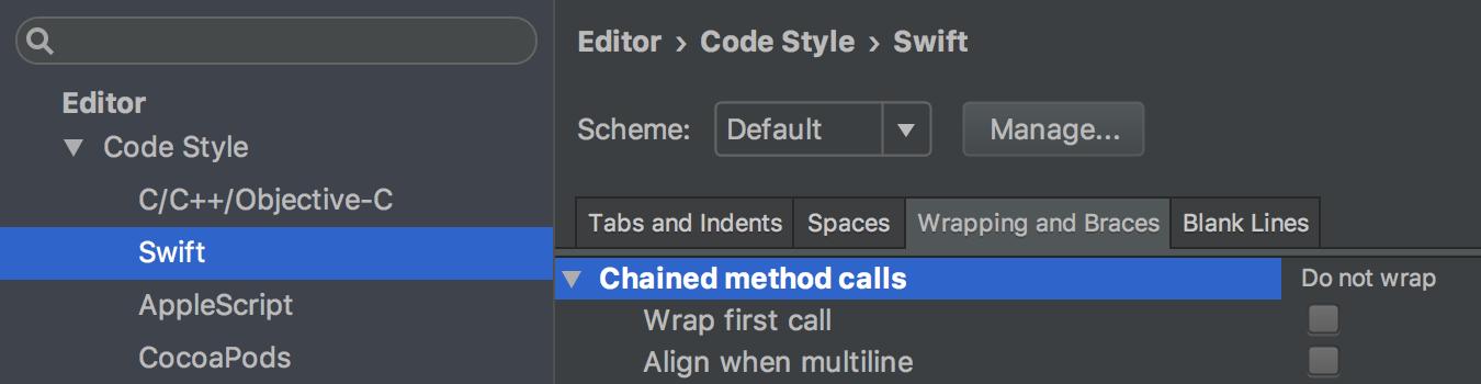 AppCode 2016.3: поддержка Swift 3, новые настройки форматирования, улучшения быстродействия и многое другое - 5