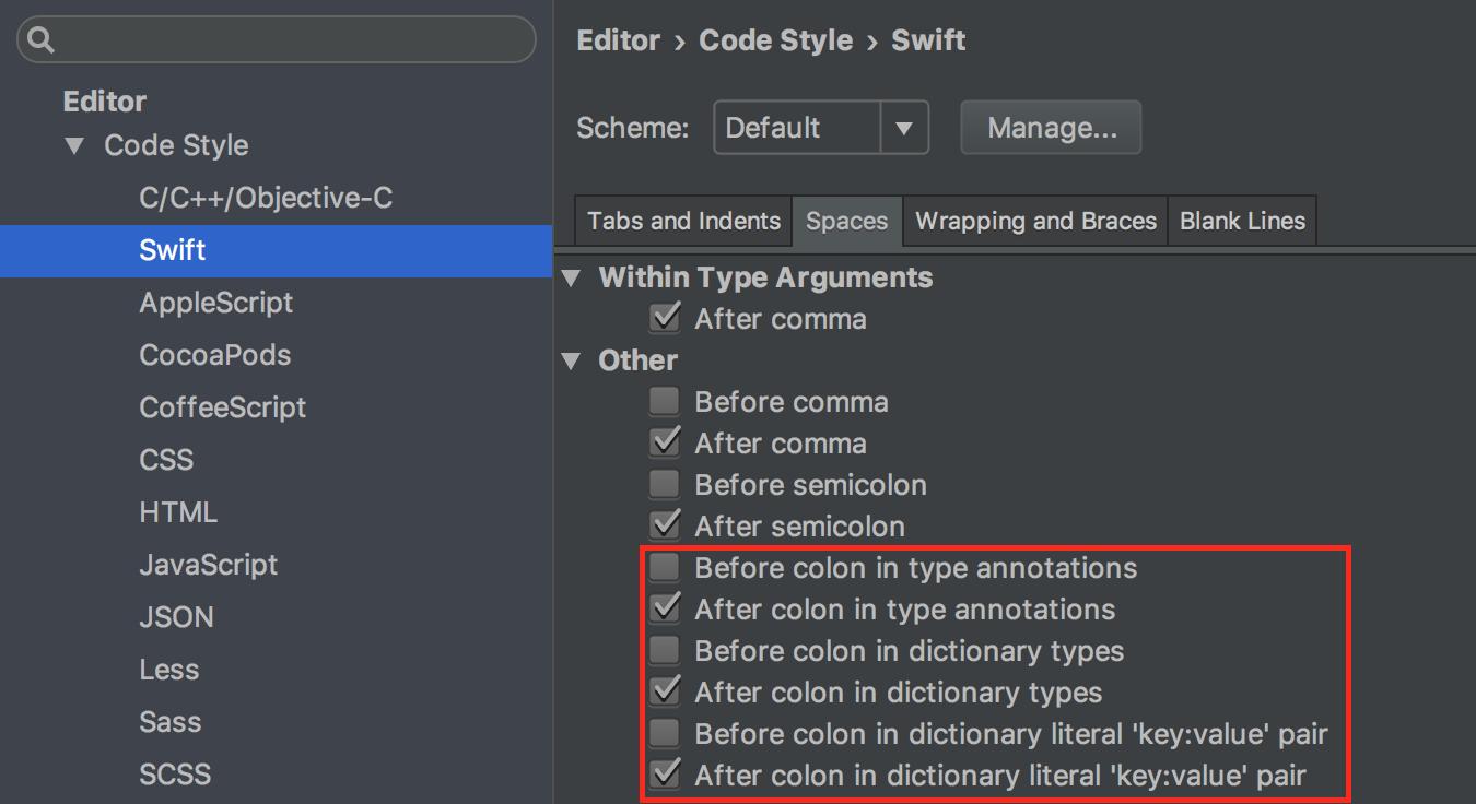 AppCode 2016.3: поддержка Swift 3, новые настройки форматирования, улучшения быстродействия и многое другое - 6
