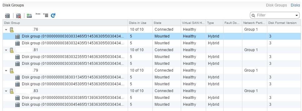 Развертывание тестового кластера VMware Virtual SAN 6.2 - 4