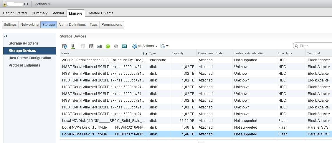 Развертывание тестового кластера VMware Virtual SAN 6.2 - 7