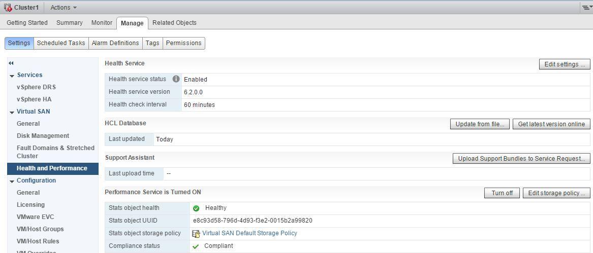 Развертывание тестового кластера VMware Virtual SAN 6.2 - 9