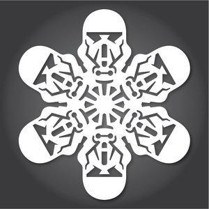 Снежинки в стилистике StarWars своими руками (upd. 2016) - 10