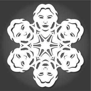 Снежинки в стилистике StarWars своими руками (upd. 2016) - 14