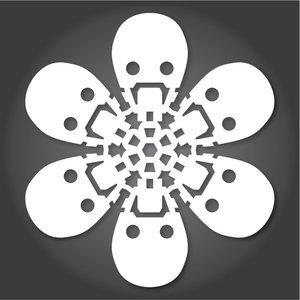 Снежинки в стилистике StarWars своими руками (upd. 2016) - 15