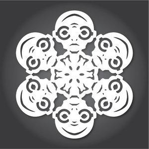Снежинки в стилистике StarWars своими руками (upd. 2016) - 16