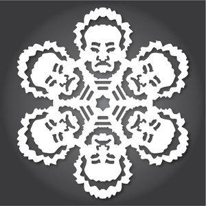 Снежинки в стилистике StarWars своими руками (upd. 2016) - 20
