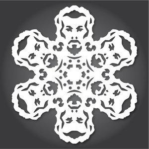 Снежинки в стилистике StarWars своими руками (upd. 2016) - 3