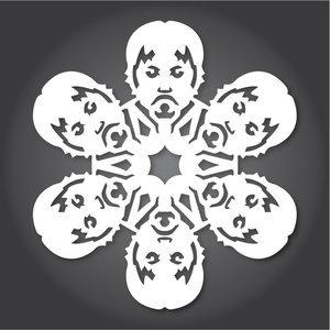 Снежинки в стилистике StarWars своими руками (upd. 2016) - 8