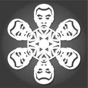Снежинки в стилистике StarWars своими руками (upd. 2016) - 9