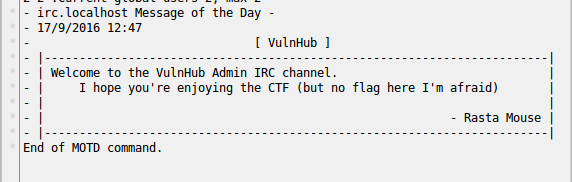 VulnHub: Разбор DC416 Dick Dastardly - 7