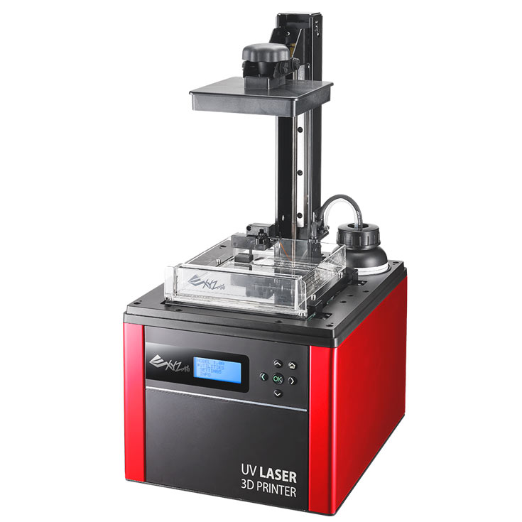 В модели Nobel 1.0A используется технология стереолитографии (SLA), в da Vinci Pro 1.0 Pro 3-in-1 — послойного наплавления (FDM)