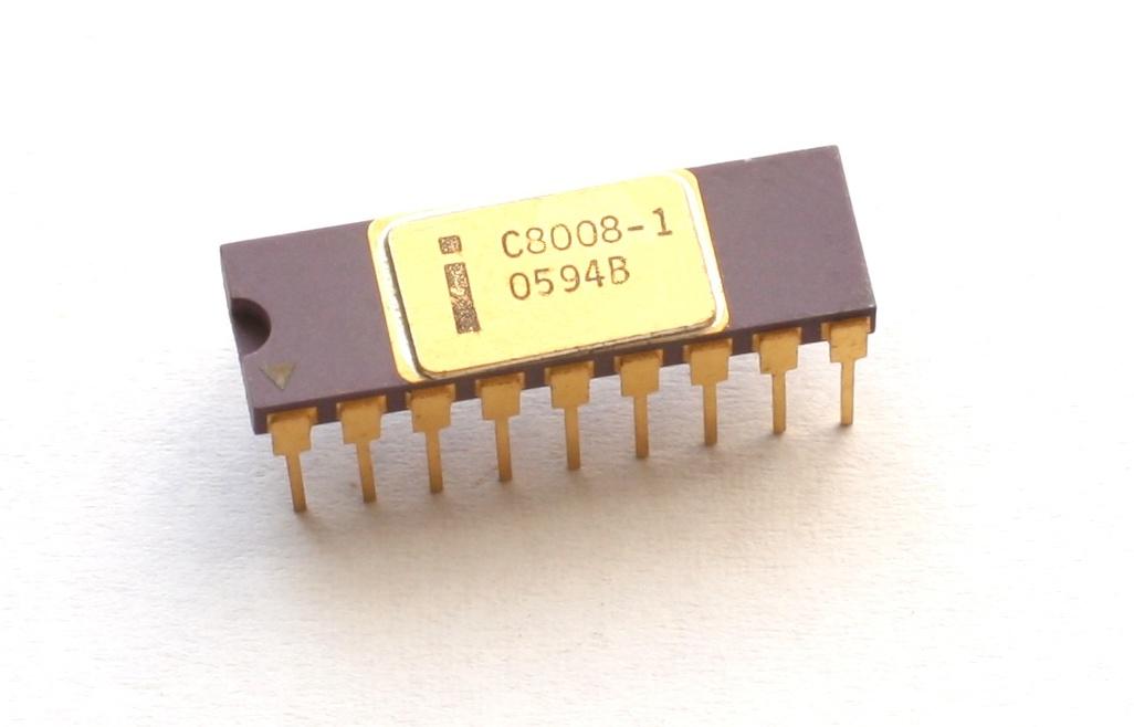 Фотографии кристалла процессора Intel 8008, который дал жизнь первым ПК - 2