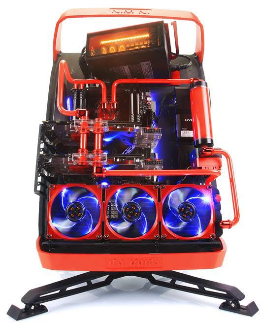 Компьютерный корпус In Win X-Frame 2.0 предложен в трех цветовых вариантах