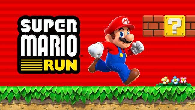 Nintendo рассчитывает на 100 млн загрузок Super Mario Run, планируя выпускать 2-3 игры для смартфонов ежегодно