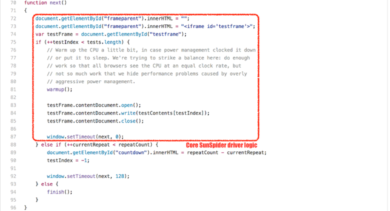 Правда о традиционных JavaScript-бенчмарках - 11
