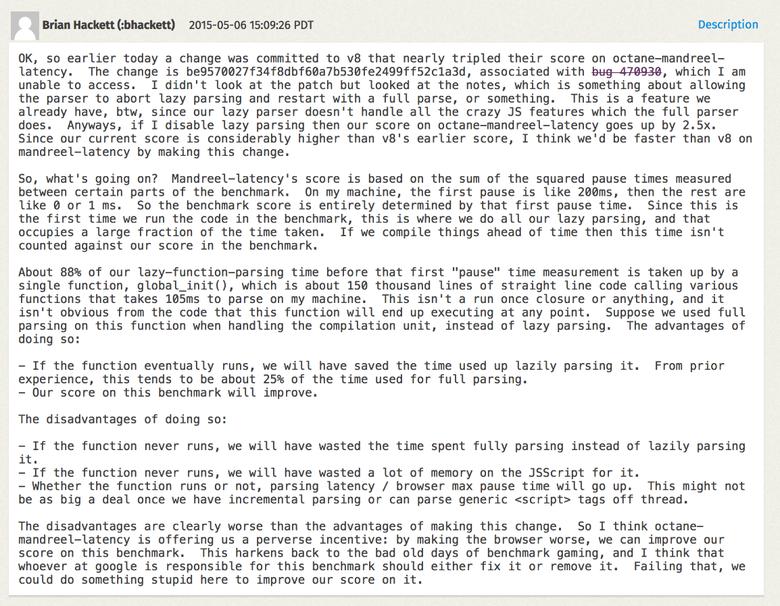 Правда о традиционных JavaScript-бенчмарках - 19