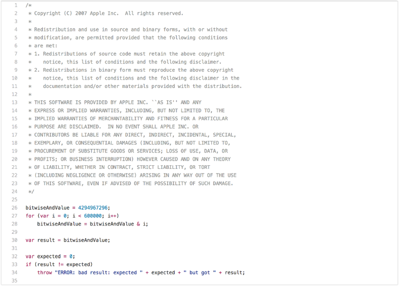 Правда о традиционных JavaScript-бенчмарках - 6