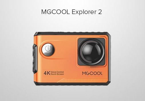 Экшн-камера MGCool Explorer 2 поддерживает стандарт H.265 (HEVC)